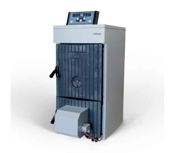 cazan fontă rima m-max 33 kw cu ventilator