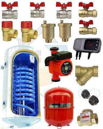 Pachet cazan Dunatech 20 kw cu boiler