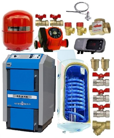 Atmos DC25S 25 kw cu boiler