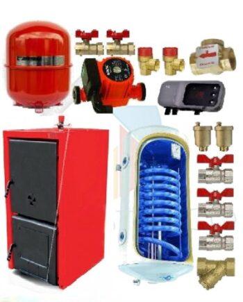 Woody 25 kw cu boiler